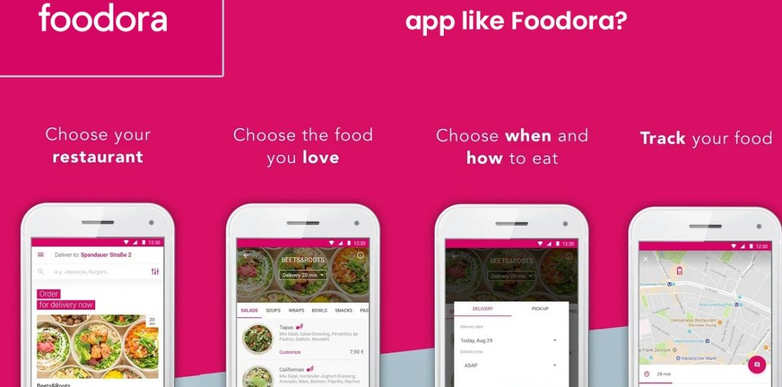 How Much does it cost to develop an app like Foodora GmbH