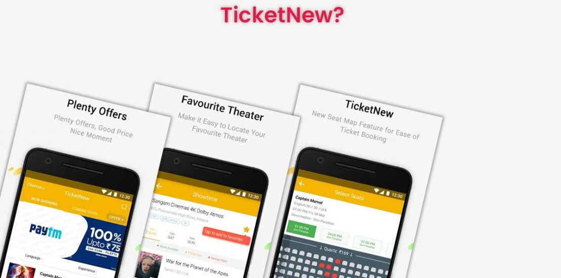 How Much does it Cost to Develop a Movie Ticket Booking app like TicketNew?