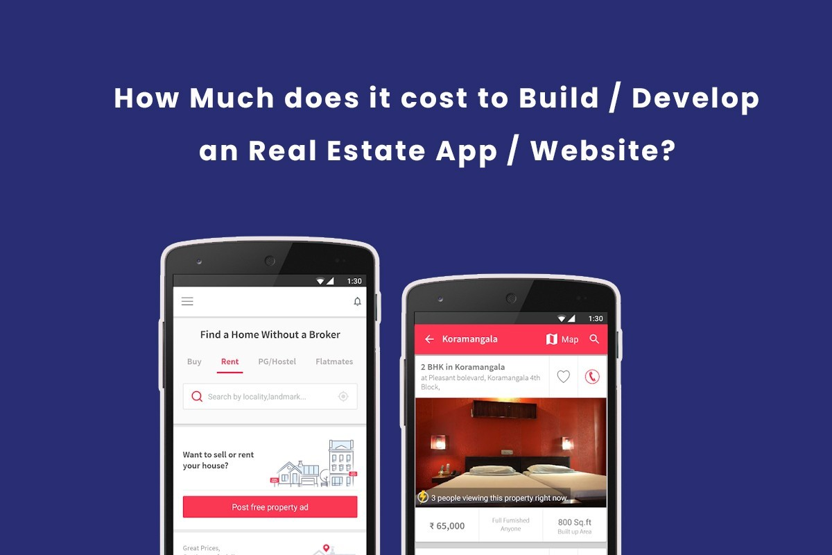 How Much does it cost to build an Real Estate Business App ...