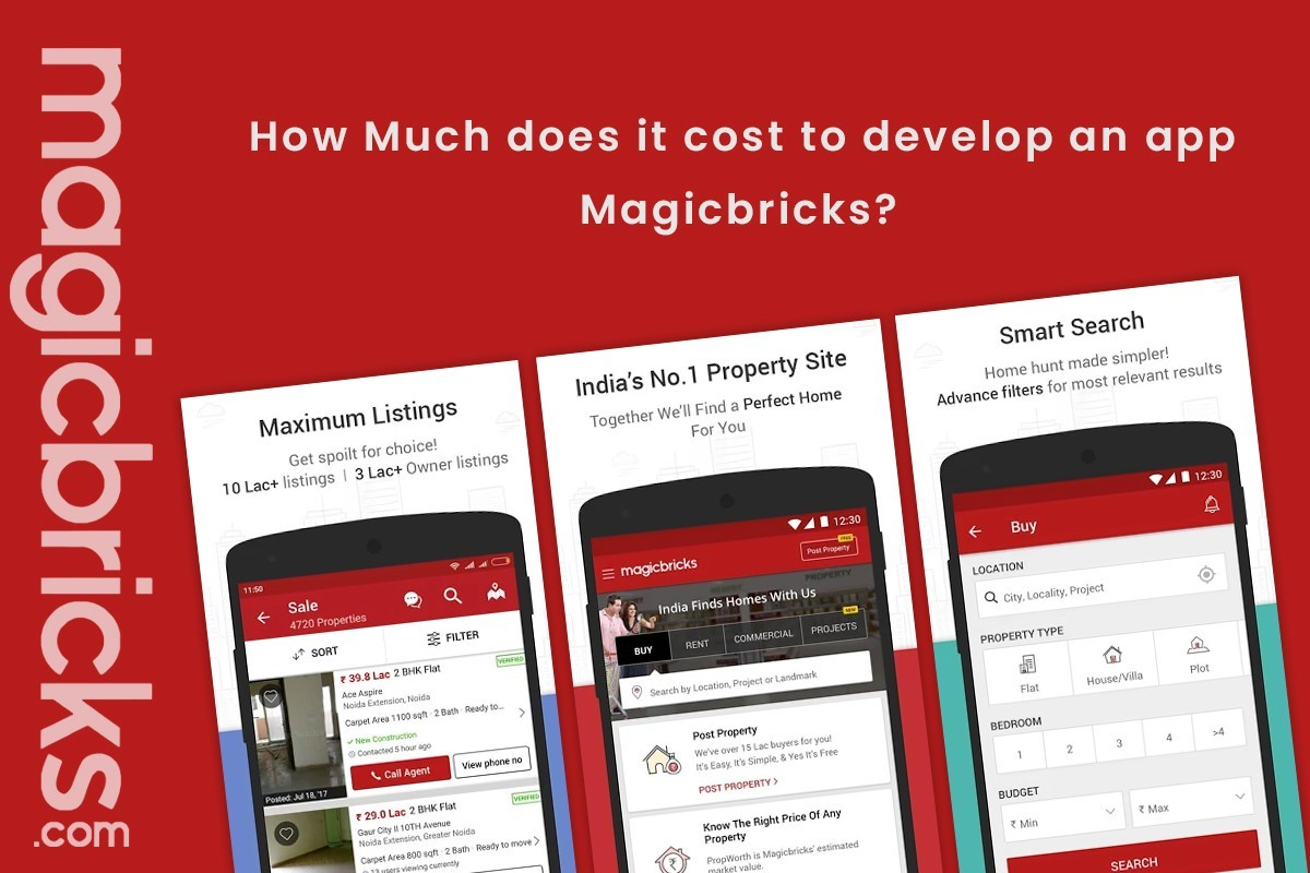 How Much does it cost to build an app, website like ...