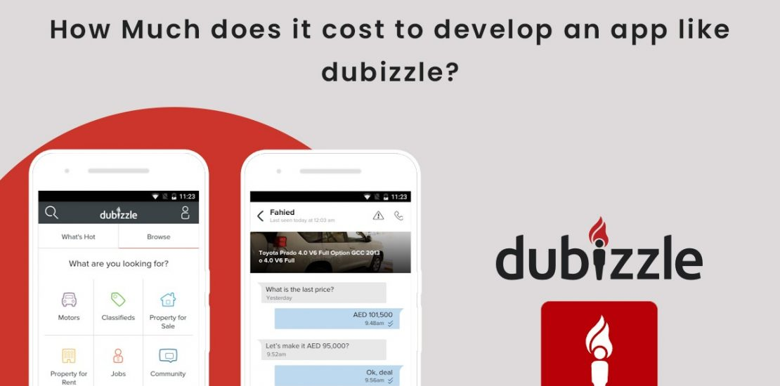 HOW MUCH DOES IT COST TO DEVELOP AN APP LIKE DUBIZZLE?