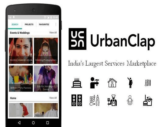 UrbanClap Mobile app develpment cost copy