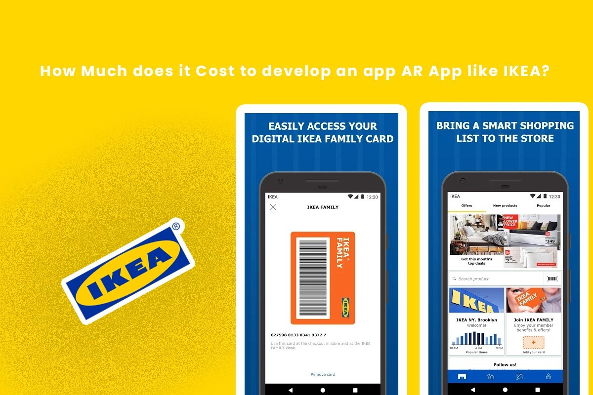 Cost of Developing an Augmented Reality (AR) App Like IKEA