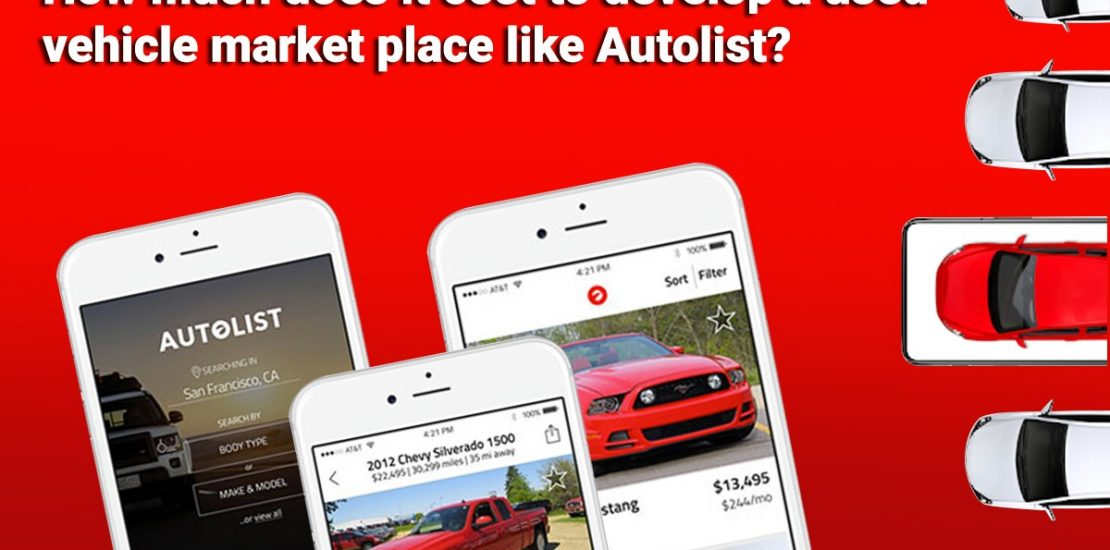How much does it cost to develop Buy & Sell Used Car App like Autolist
