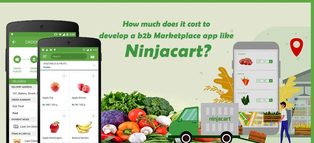 Cost To Develop A B2b Marketplace App Like Ninjacart