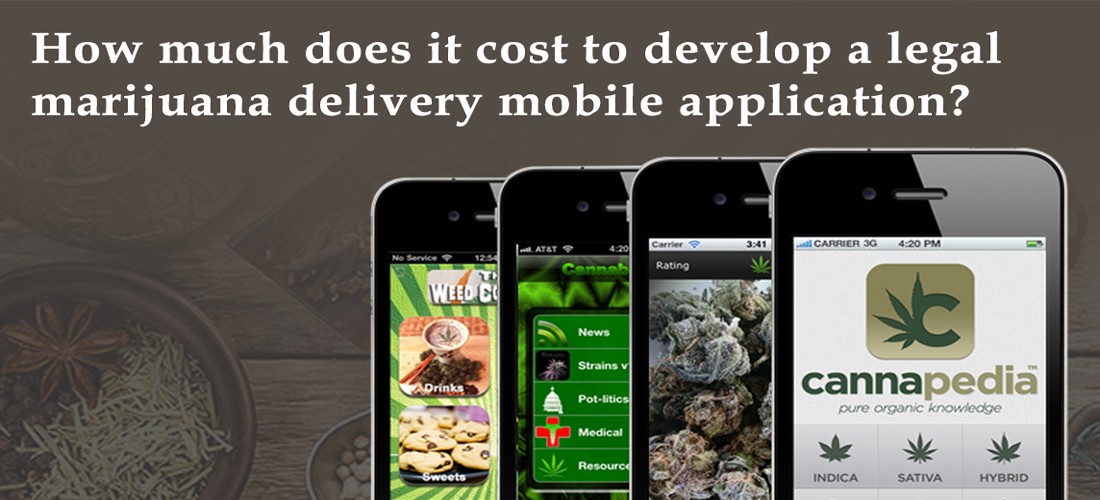 Cost To Develop A Legal Marijuana Delivery Mobile Application