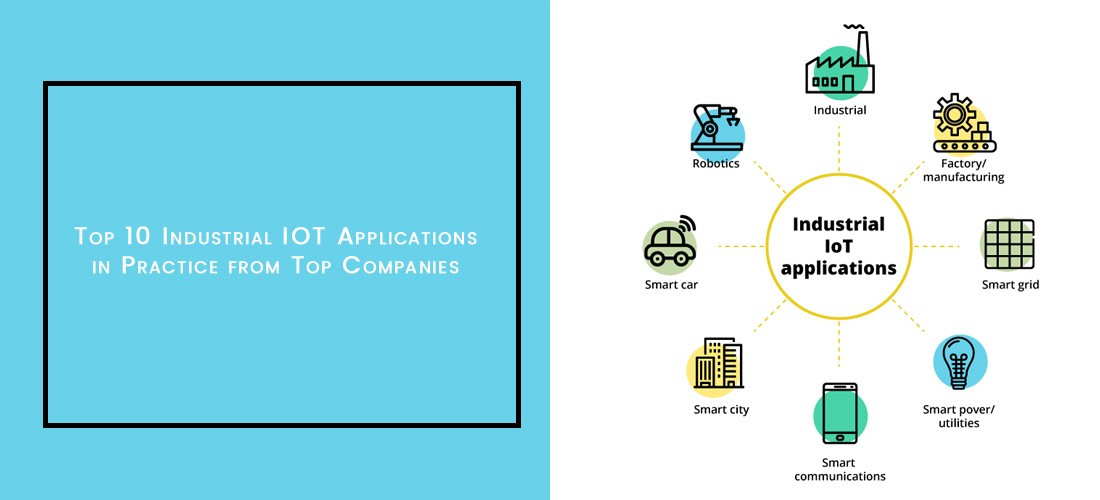 Top Industrial IOT Applications in practice from Top companies