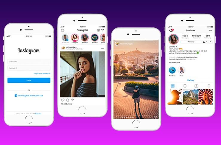 video sharing mobile application like Instagram