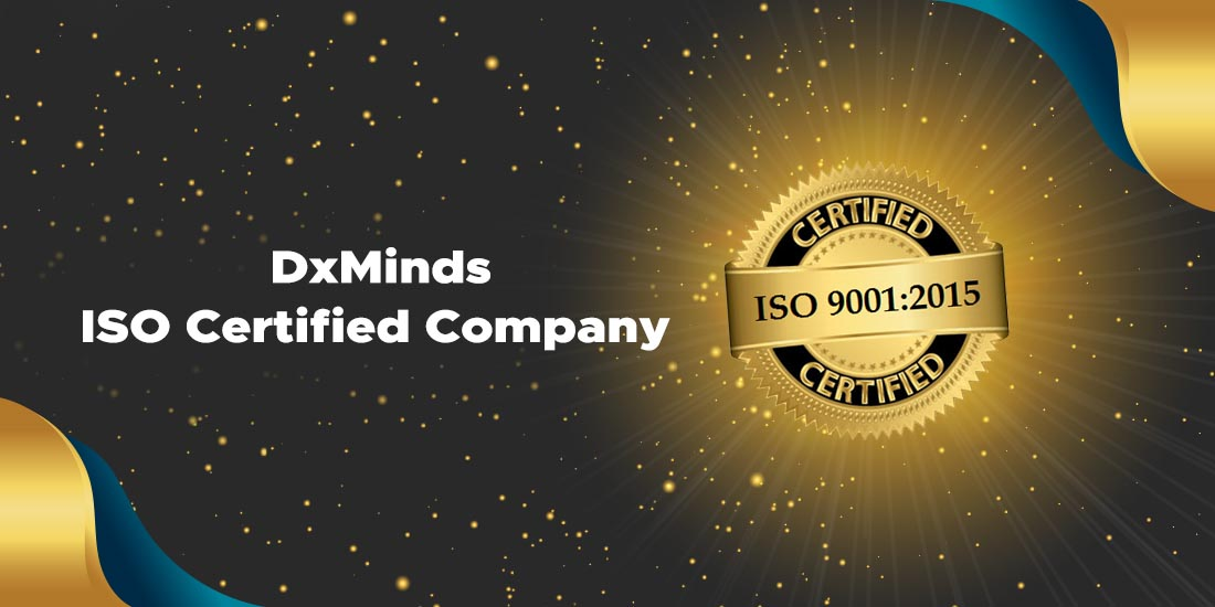 DxMinds: ISO Certified App Development Company in India